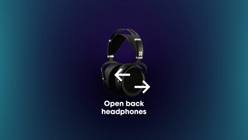 what are open-back headphones