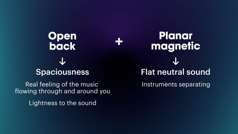 what do open back planar magnetic headphones sound like
