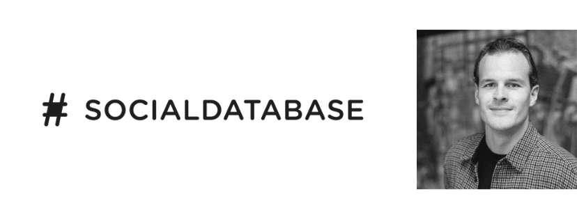 SocialDatabase logo and CEO Thomas Slabbers