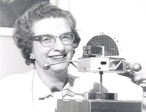 Nancy Grace Roman, for whom this telescope is named, was the first Chief of Astronomy in the Office of Space Science at NASA Headquarters and the first woman to hold an executive position at NASA. Seen here in 1962, she oversaw the development of both the Hubble and Cosmic Background Explorer programs.