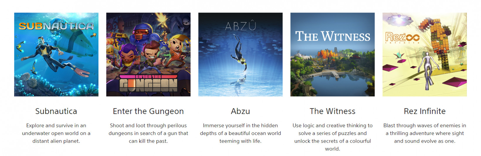 There are a bunch more cool games you can get as part of Sony's Play at Home initiative
