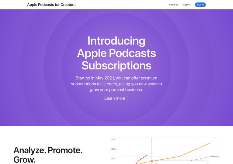 apple podcast for creators