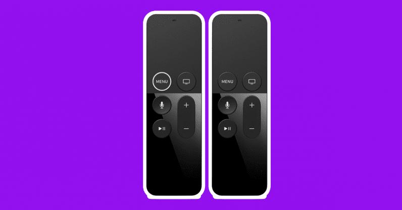 apple tv remote siri remote background