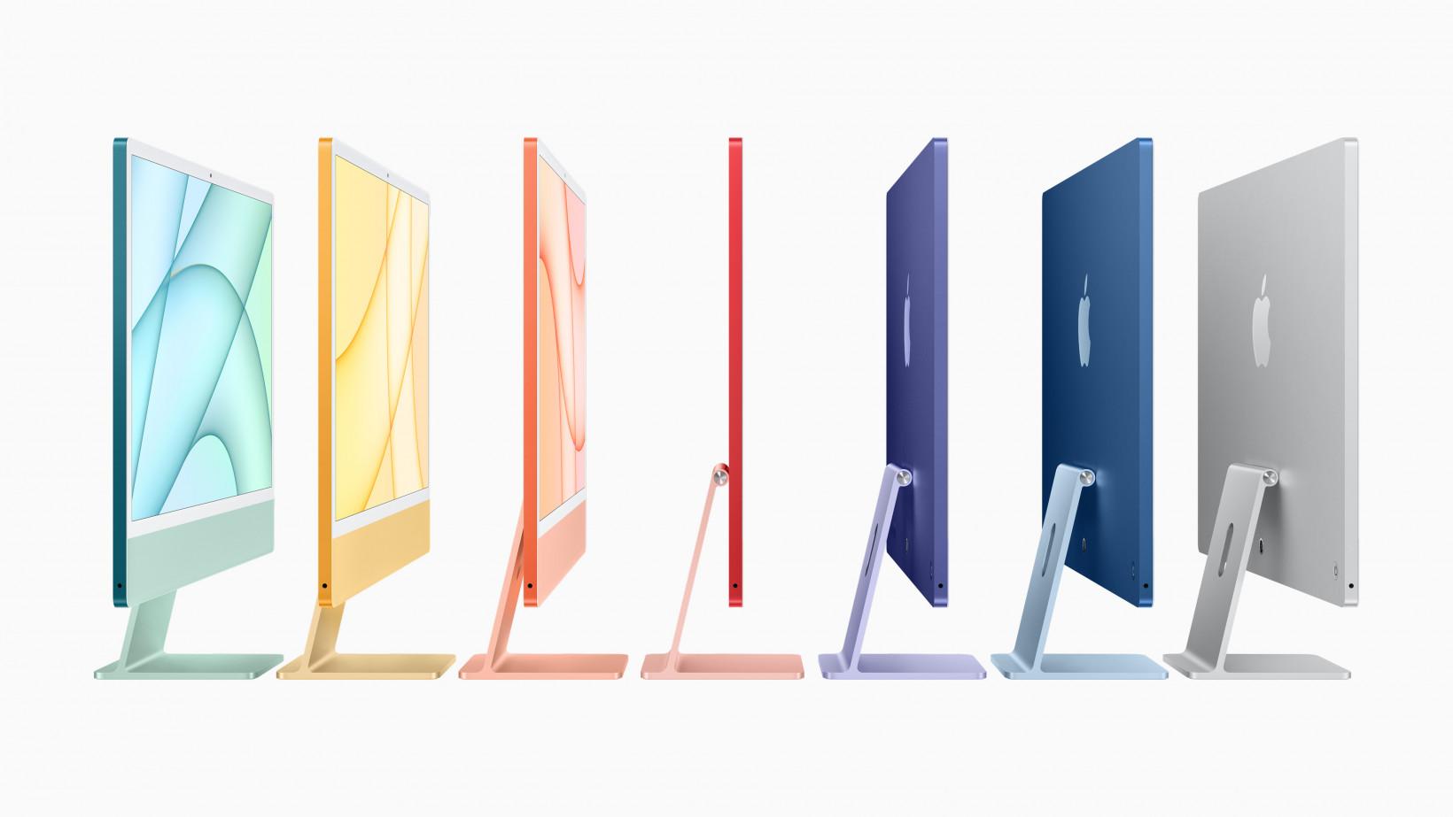 iMac 2021 colors
