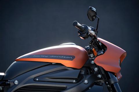 Harley-Davidson LiveWire electric motorbike
