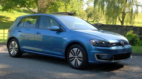 An electric golf from VW