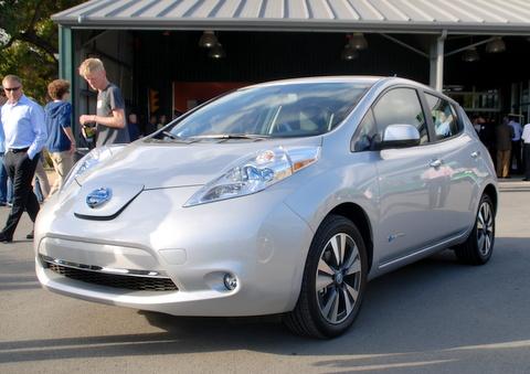 Nissan electric Lead