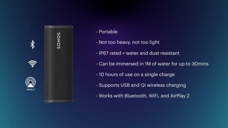 Sonos Roam review feature overview PROPER