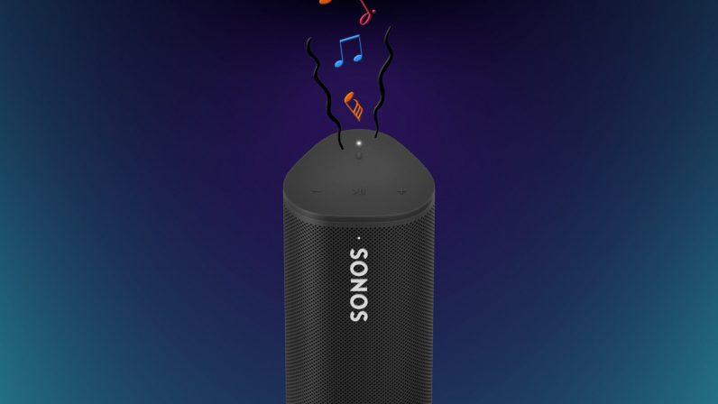 Sonos Roam review producing sound