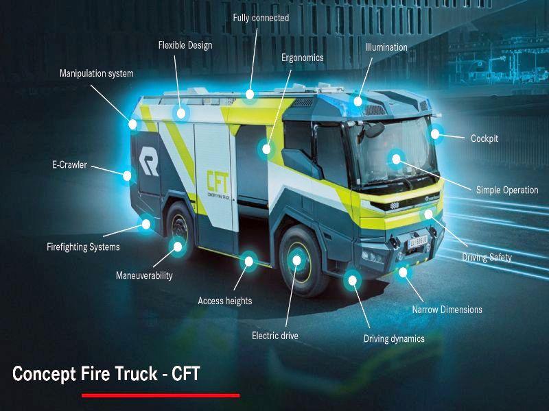 firetruck, ev, future, electric