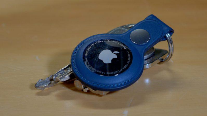 AirTag on keys