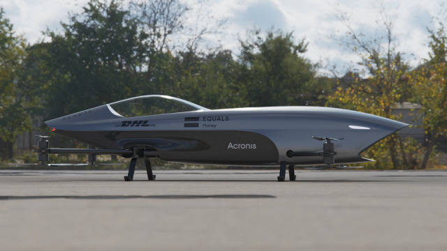 The Airspeeder MK3 has a speed of over 120km/h