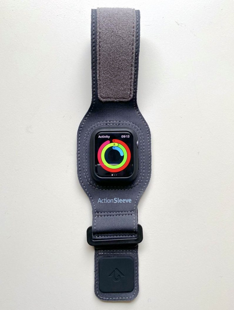 Apple Watch exercise strap Twelve South ActionSleeve 2