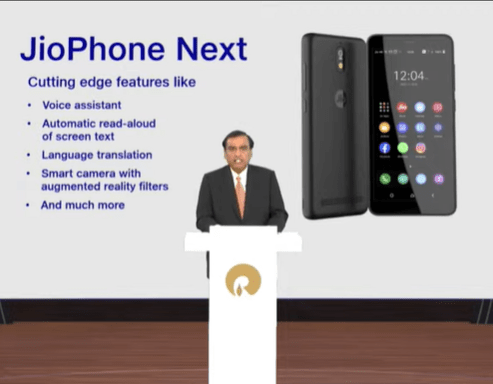 Features of JioPhone Next developed by Reliance and Google