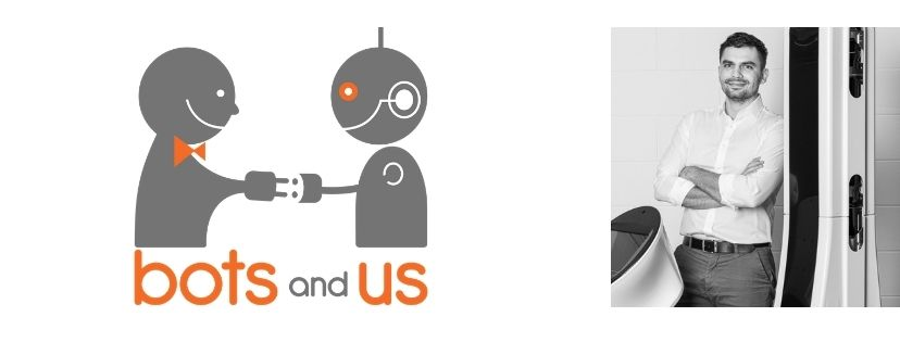 Bots and US logo and founder