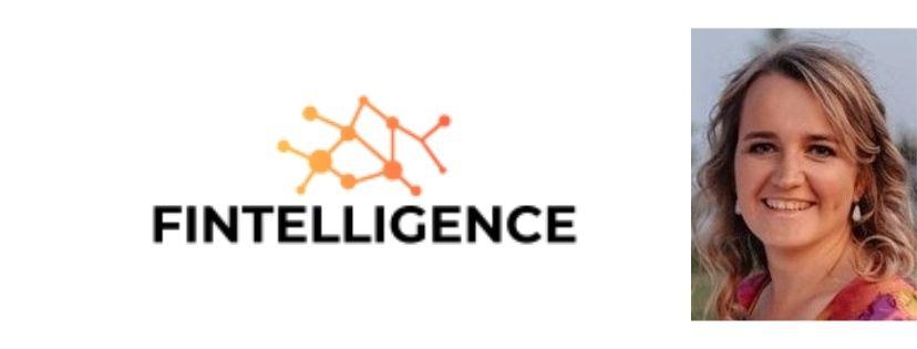 Fintelligence logo and founder