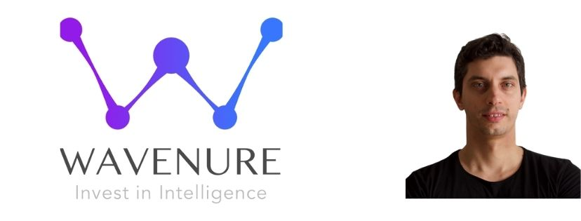 Photo of Wavenure logo and founder