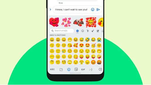 Google's emoji kitchen suggestions
