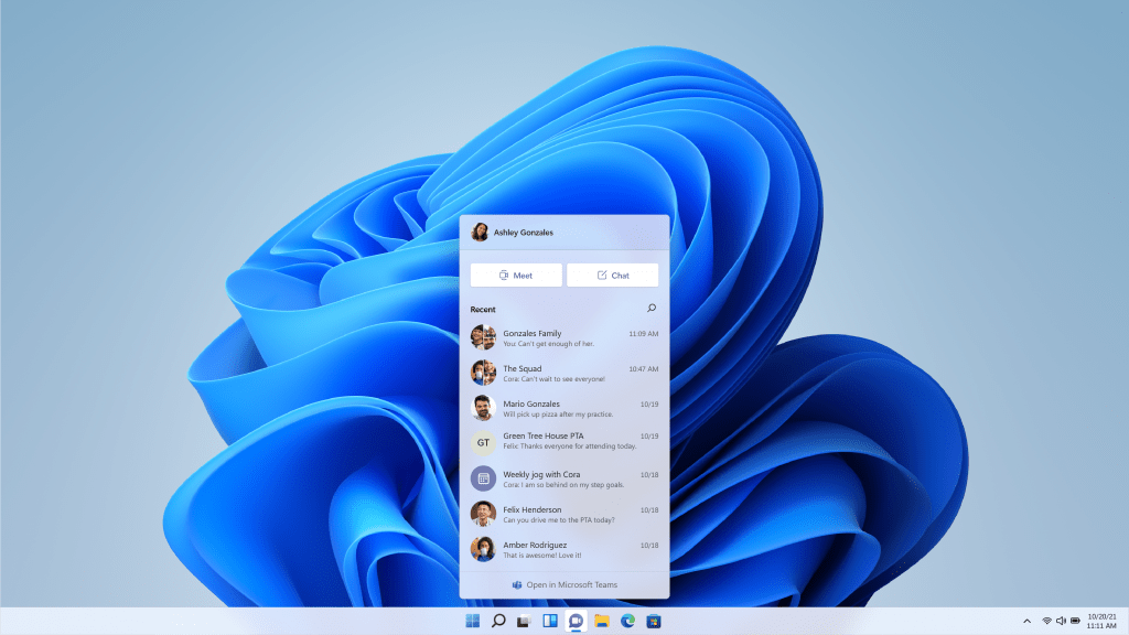 Windows 11's new features