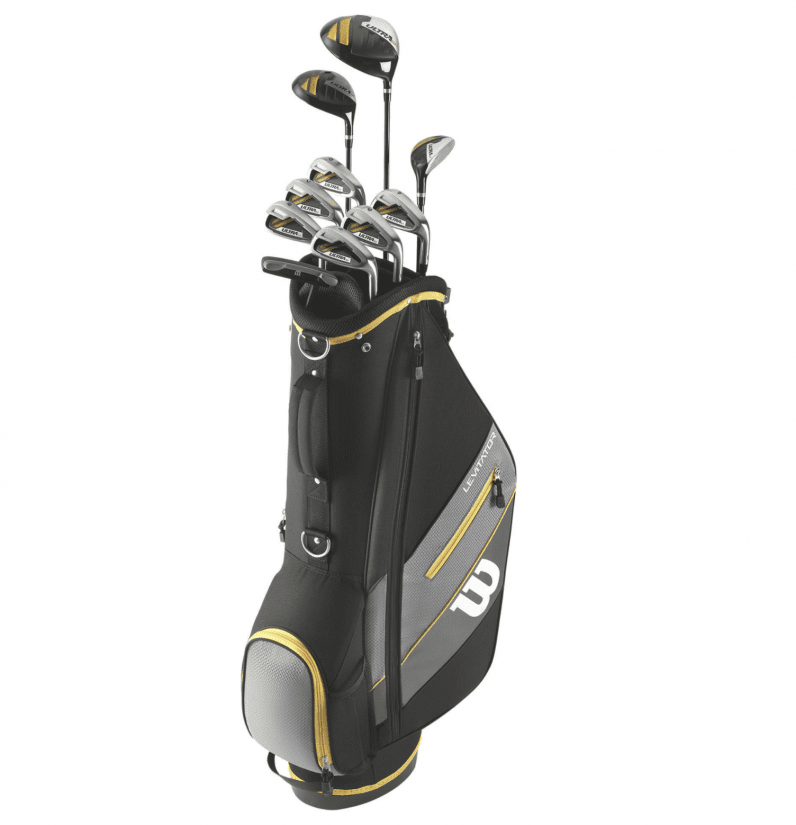 Wilson real golf clubs, not mario golf golf clubs