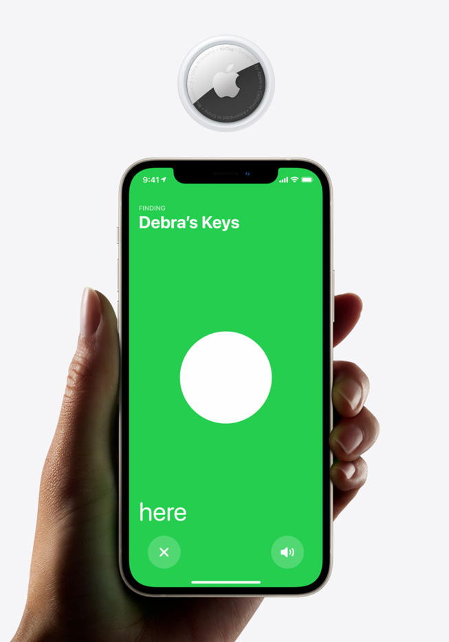 apple airtag precision finding