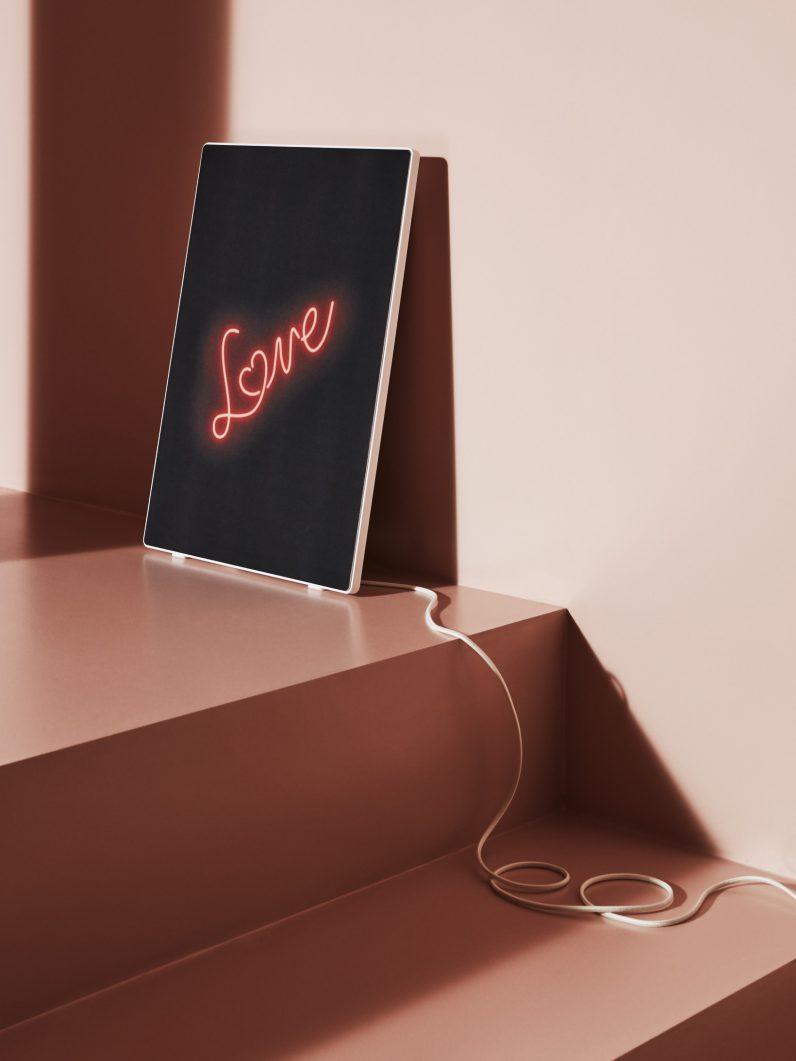 love ikea Symfonisk speaker frame design
