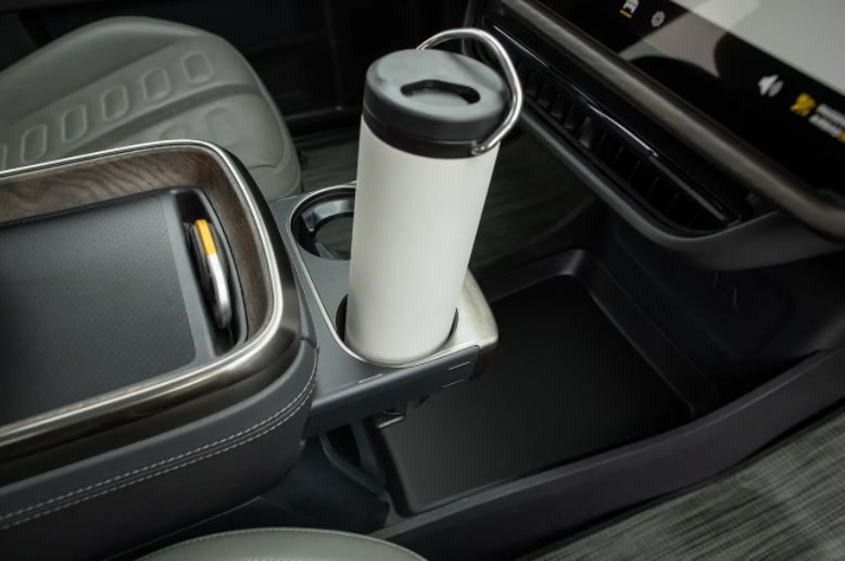 The Rivian R1T has loads of storage space
