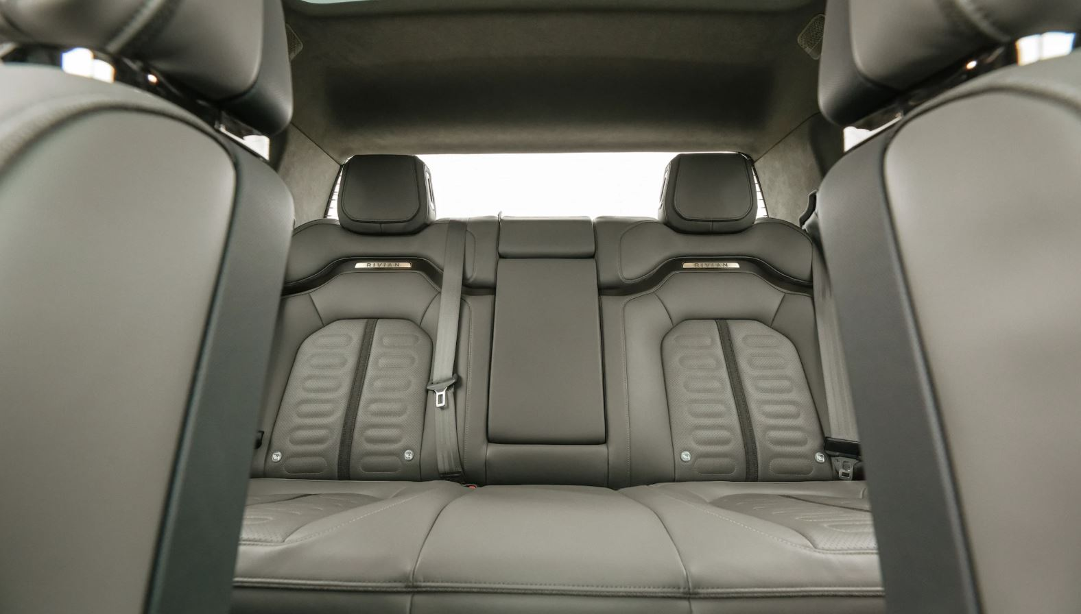 R1T's seats can be easily cleaned