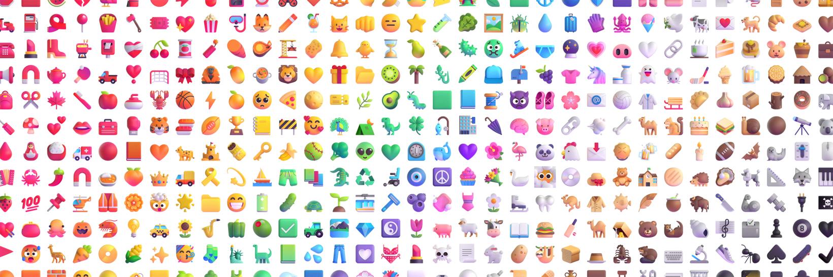 Microsoft Emoji Windows 11