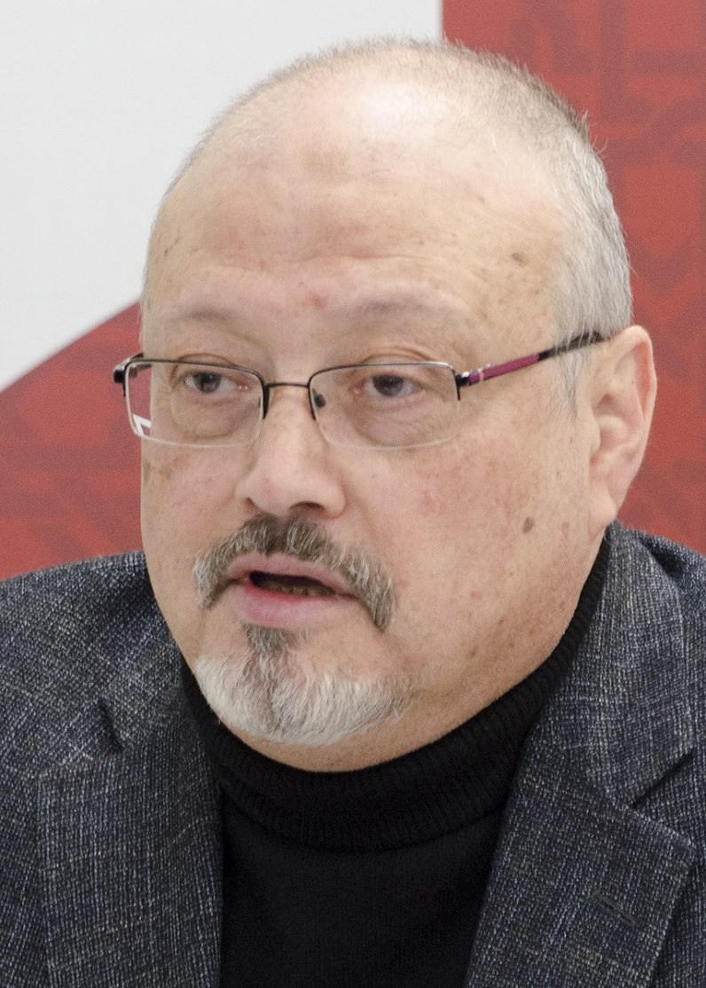 Journalist Jamal Khashoggi who was murdered in 2018