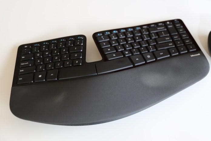 Microsoft Sculpt Ergonomic Wireless Desktop Keyboard