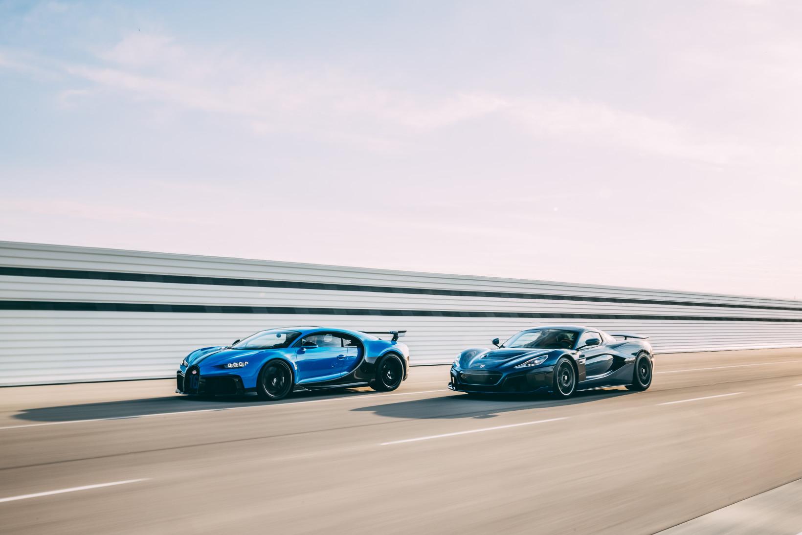 Bugatti et Rimac formeront une nouvelle joint-venture.