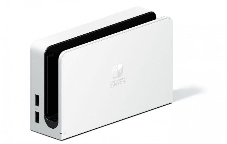 Nintendo Switch OLED model OLED Switch white dock