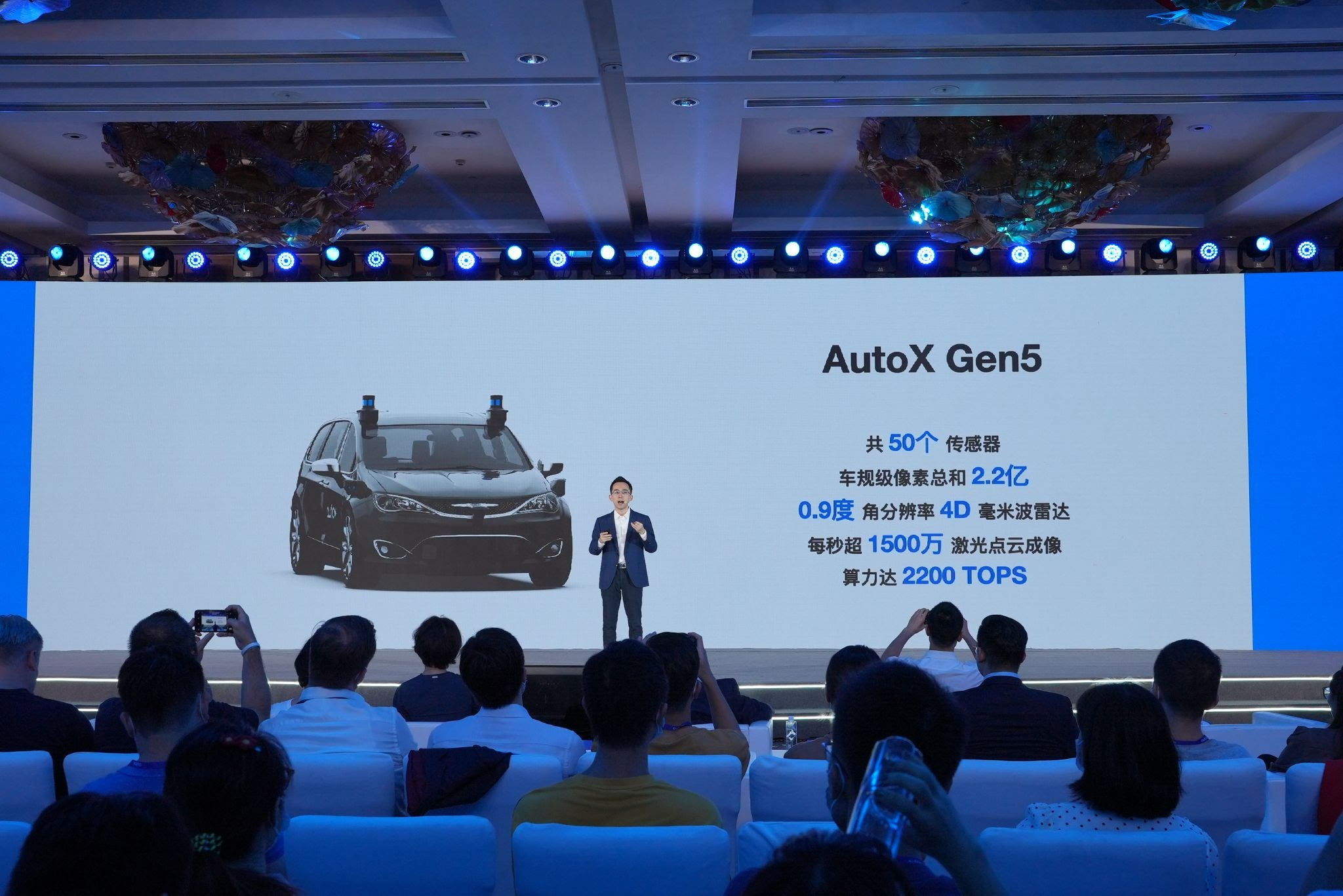 AutoX launches new Gen5 upgrade for its robotaxis.