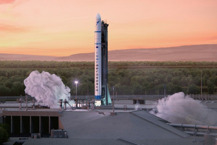 Porche is investing in space rocket company.