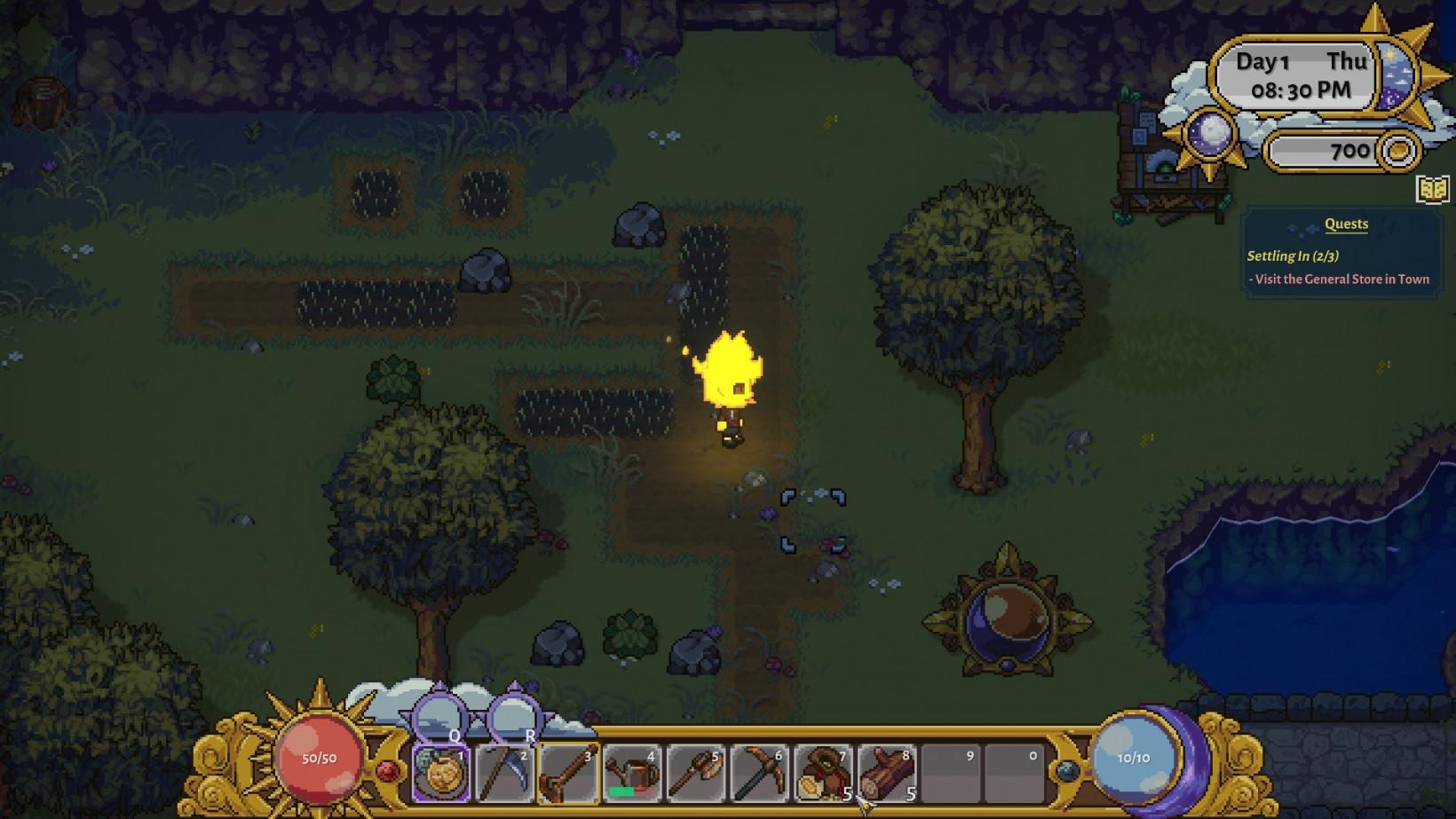 A screenshot from Sun Haven