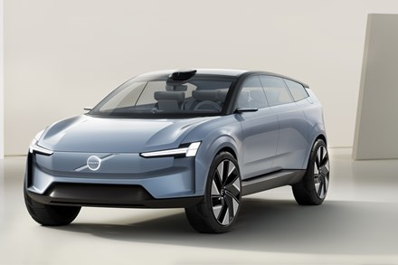 The Volvo Concept Recharge looks elegant and slick