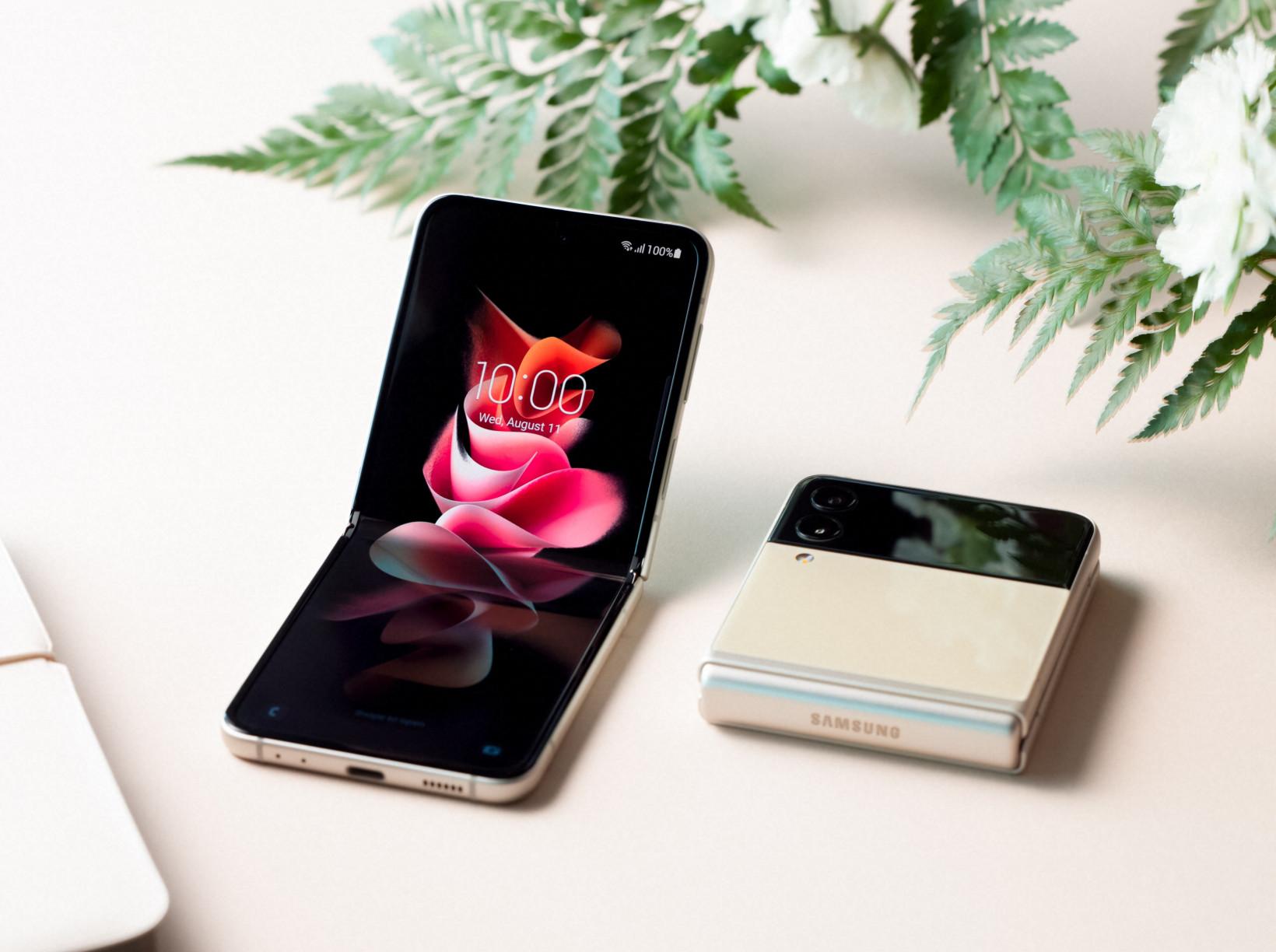 Samsung Galaxy Z Flip 3 foldable
