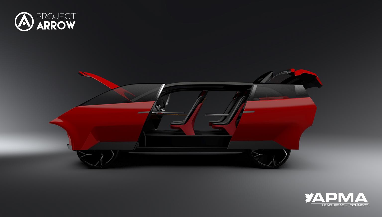depiction of concept car