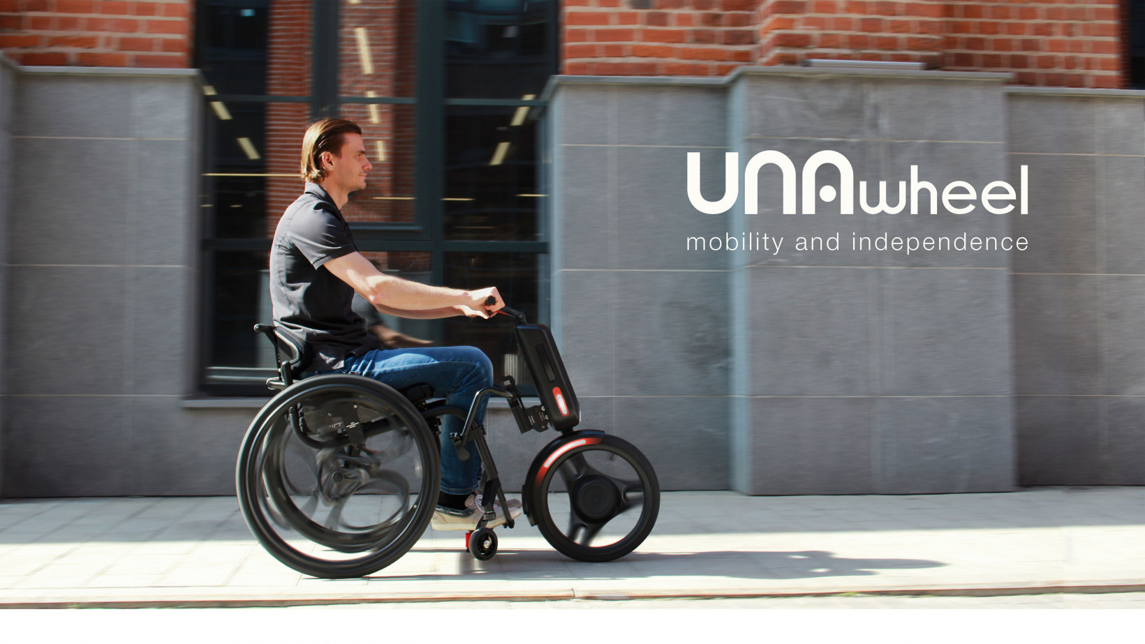The UNAwheel Maxi in action