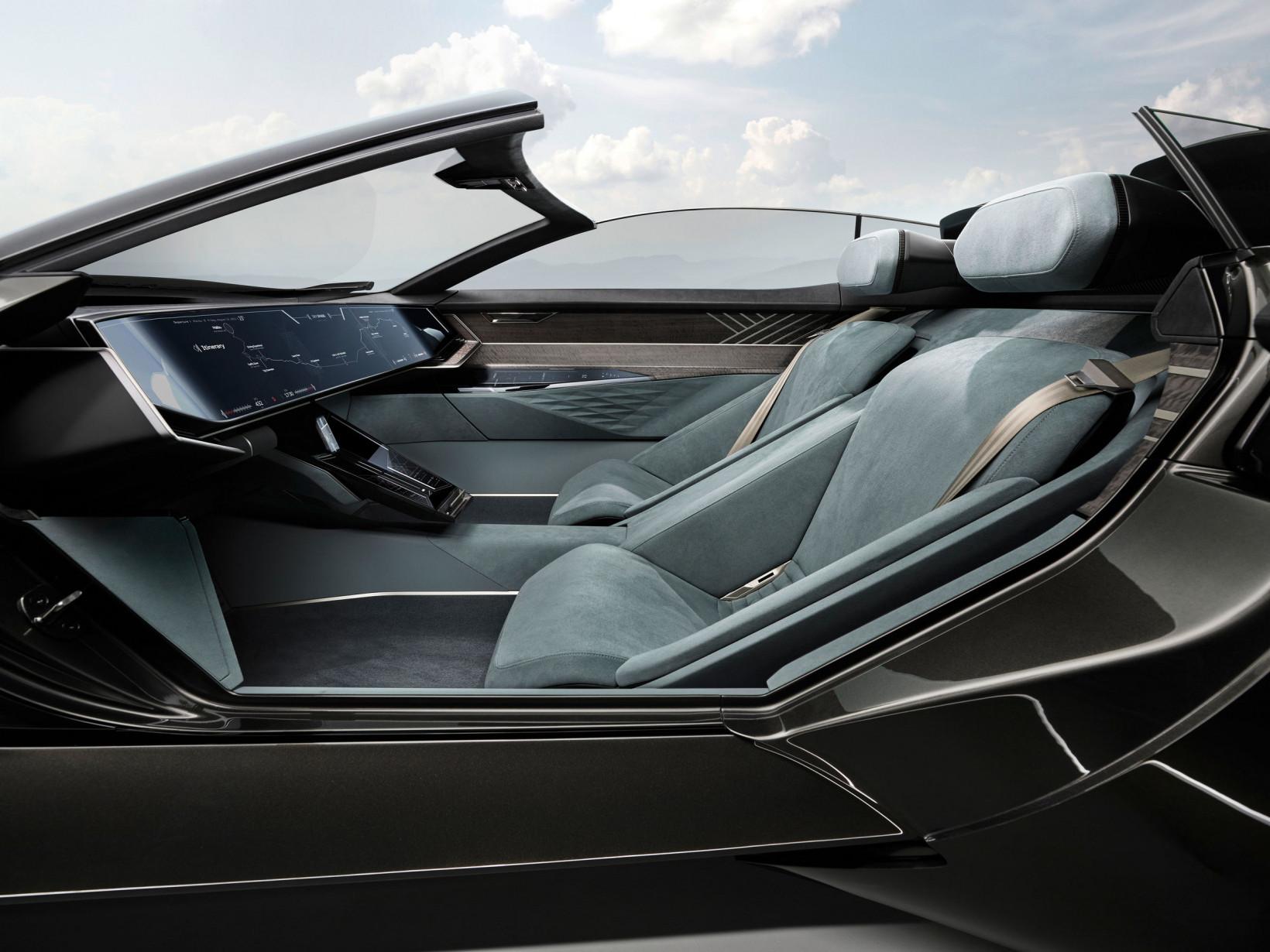 The Audi Skysphere concept car