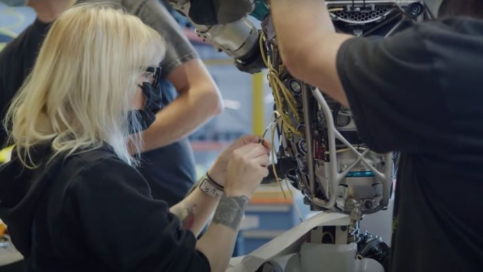Engineers at Boston Dynamics must regularly repair Atlas