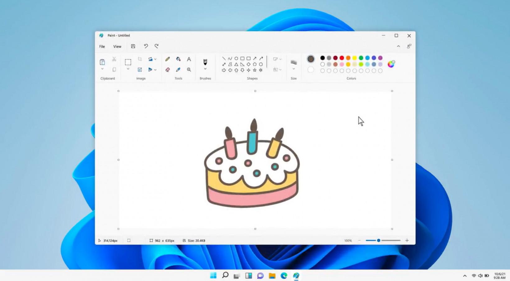 Paint Windows 11 light mode
