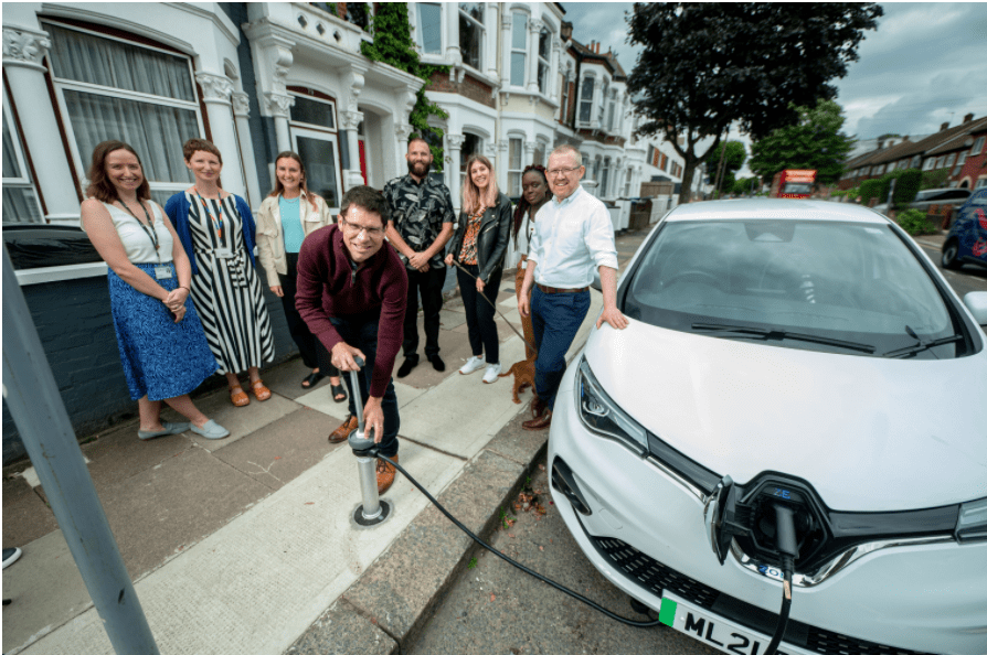 Startup Trojan Energy have designed the unique flat and flush charging system.
