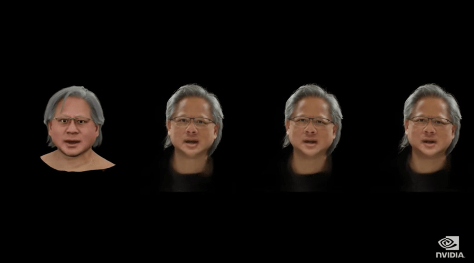 The CGI Nvidia CEO spoke at GTC 2021.