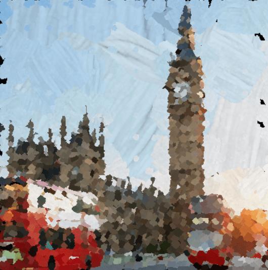 La IA convierte fotos en pinturas.