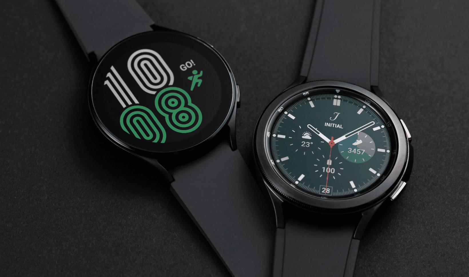 Samsung Galaxy Watch 4 and Watch 4 Classic
