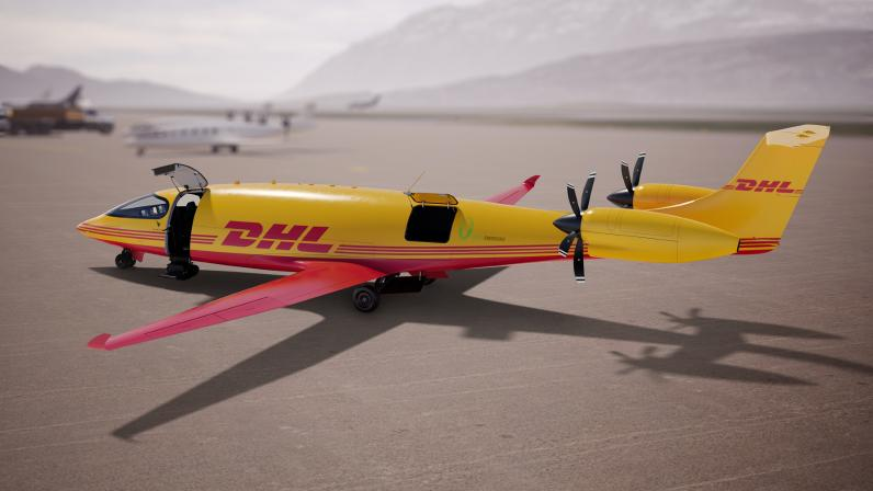 DHL is ordering 12 electric aircraft from Eviation.