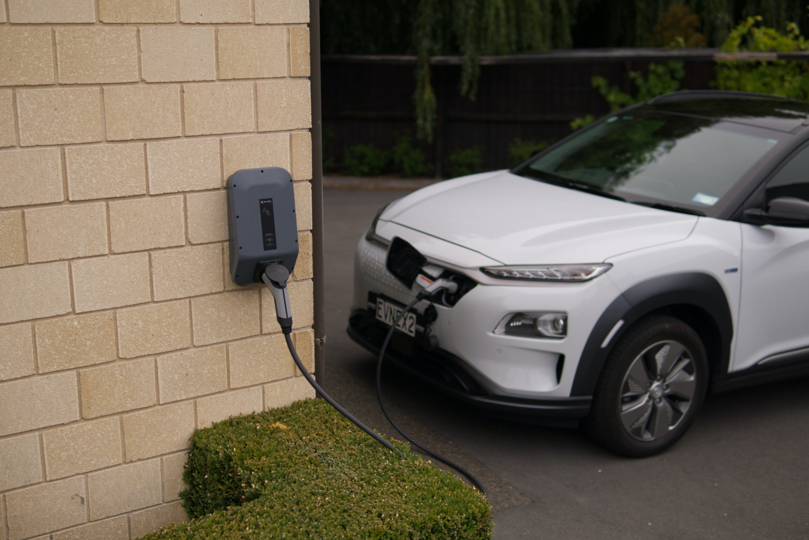 EV at home electric vehicle charging