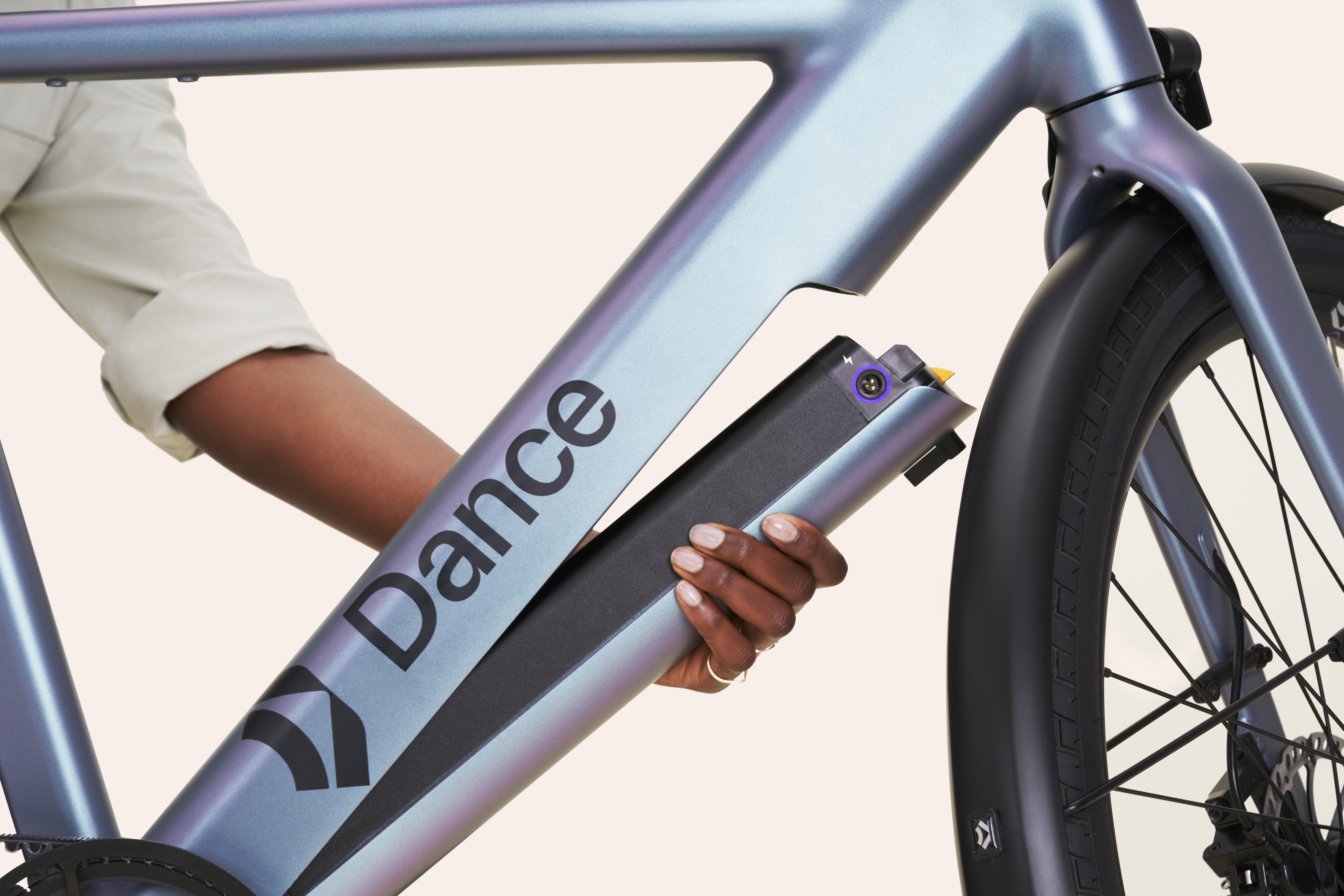 Dance ebike removable battery